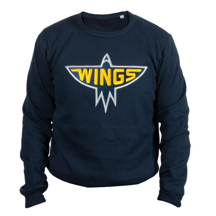 Wings Sweatshirt Navy Sr S-XXL
