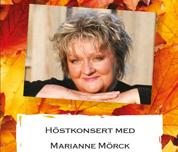Marianne Mörck med Kristianstad Stadsmusikkår