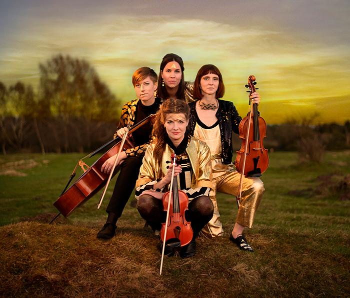 Vindla String Quartet firar 10 år