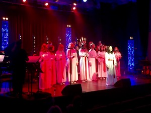 Luciakonsert med C4-gymnasiet