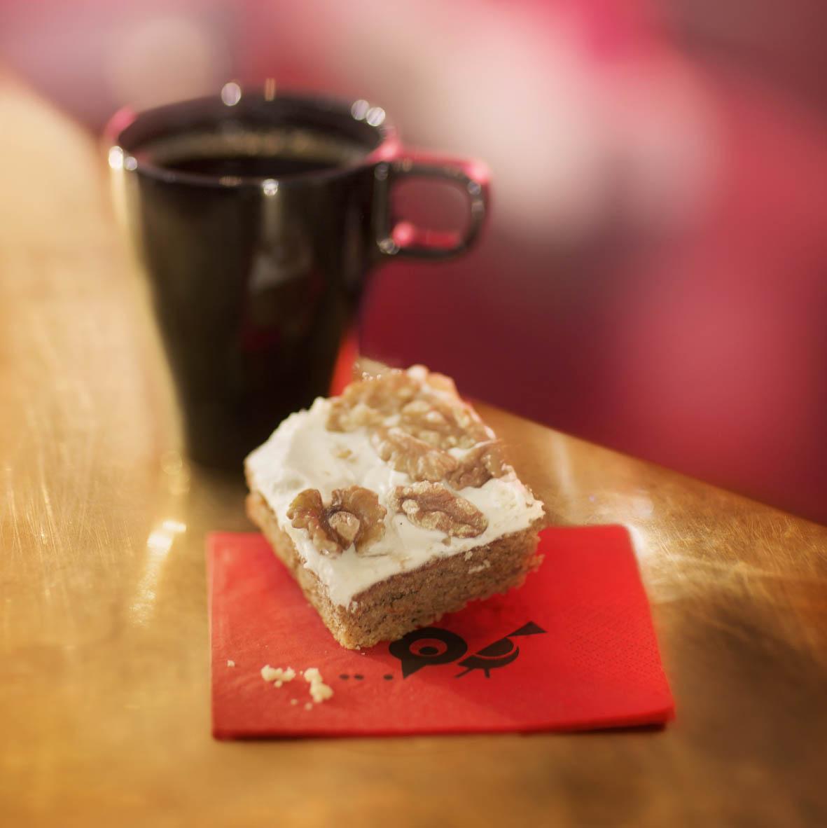 Kaffe/te + kaka